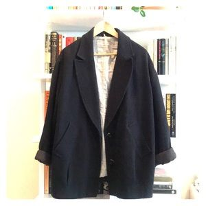 Free People Relaxed Cotton Blazer Size M